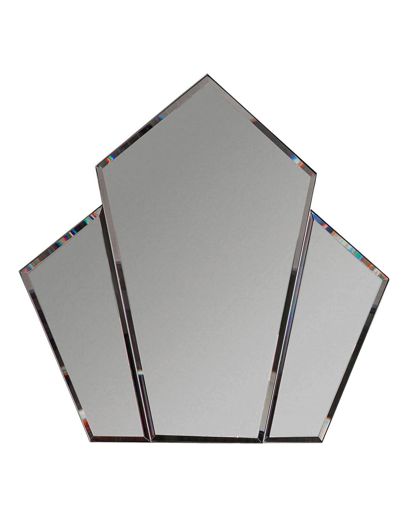 Voiste Angular Mirror Silver Oxendales