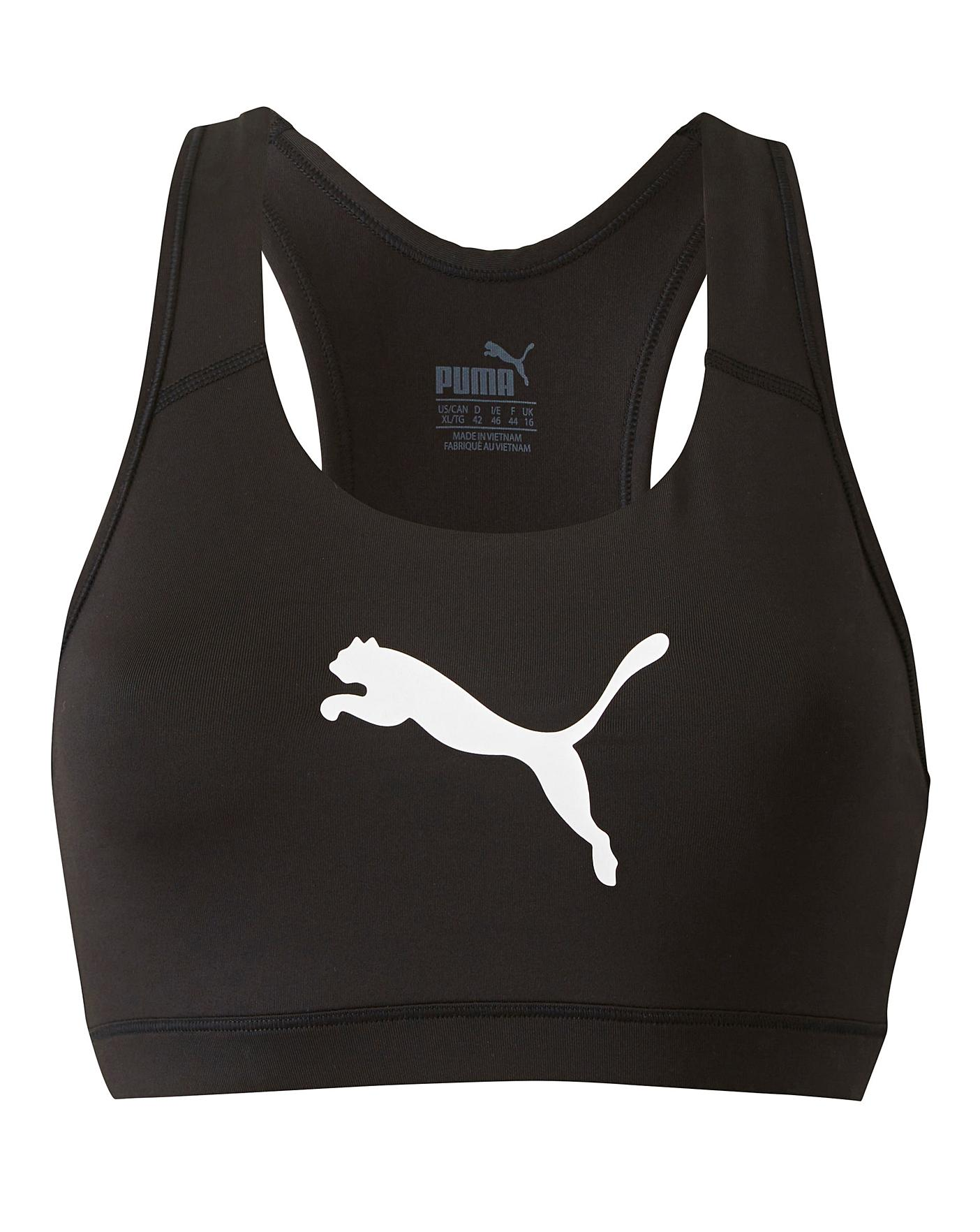 Puma Ladies Black 4Keeps Bra | Oxendales