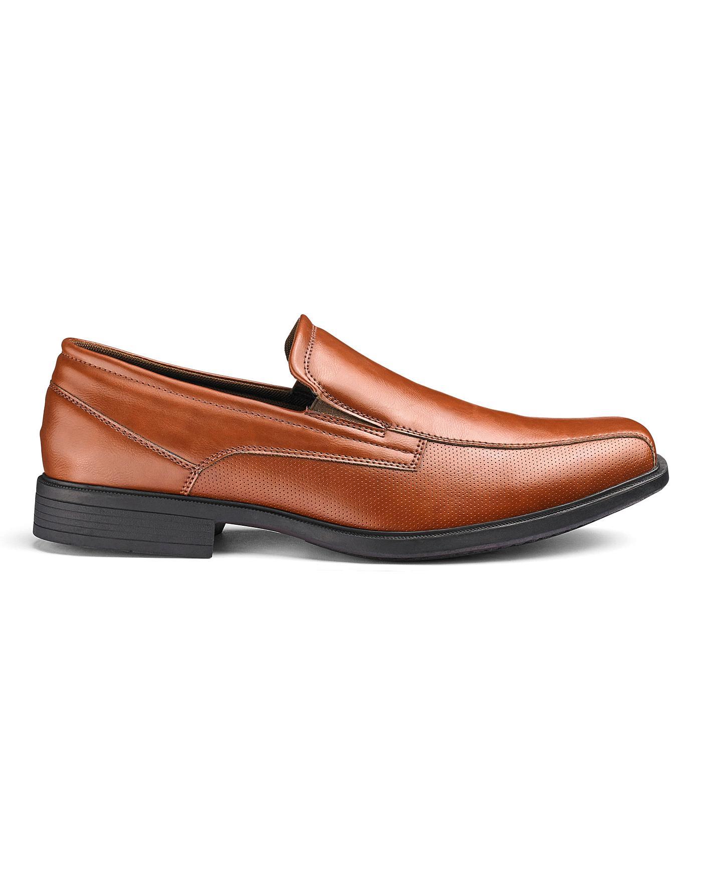 Slip On Formal Shoes Wide Fit | Premier Man