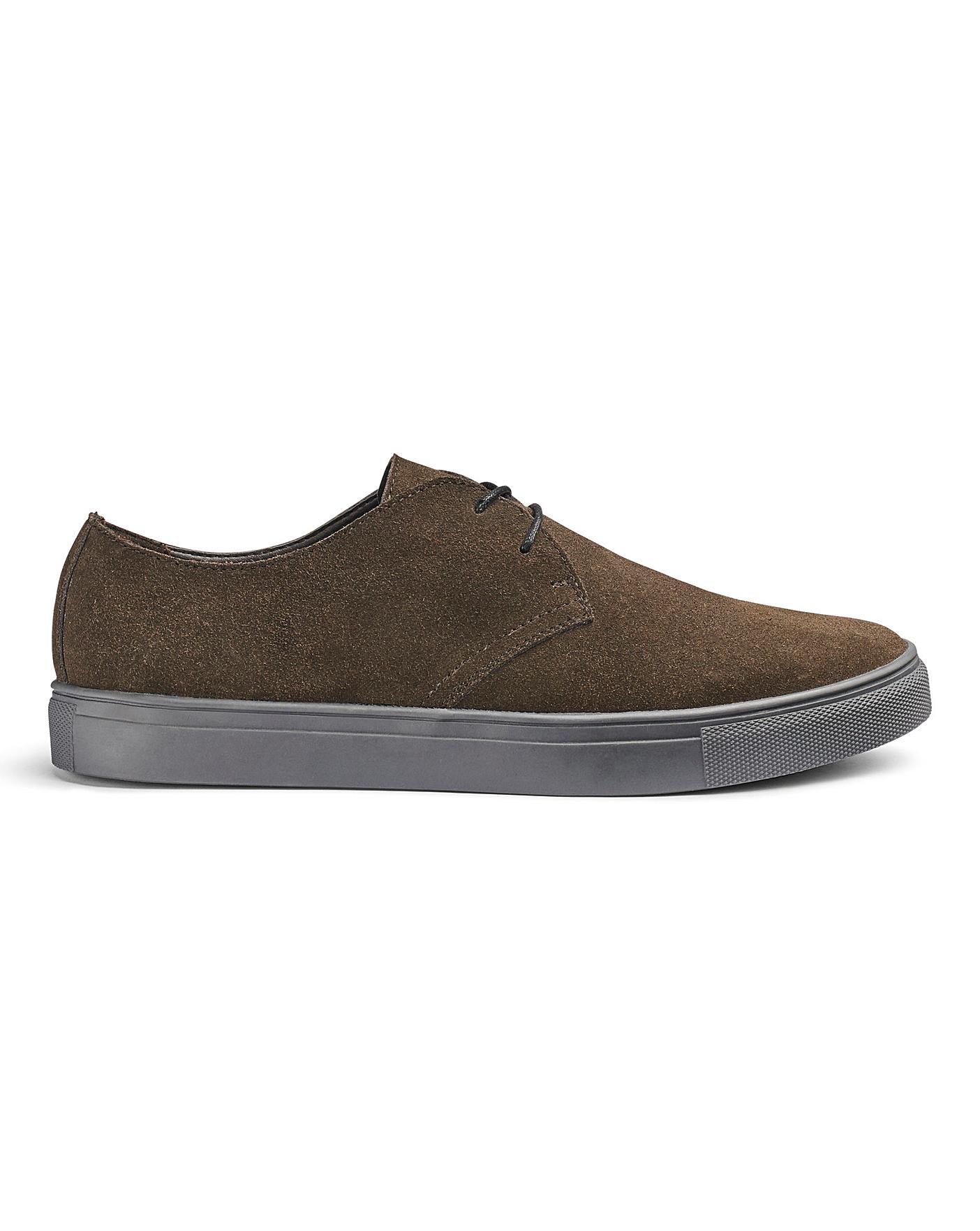 Brown Suede Casual Shoes | Jacamo
