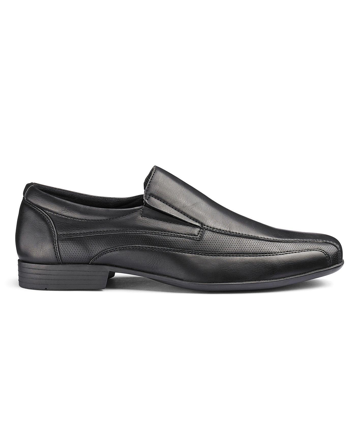 premier man wide fitting sko low price