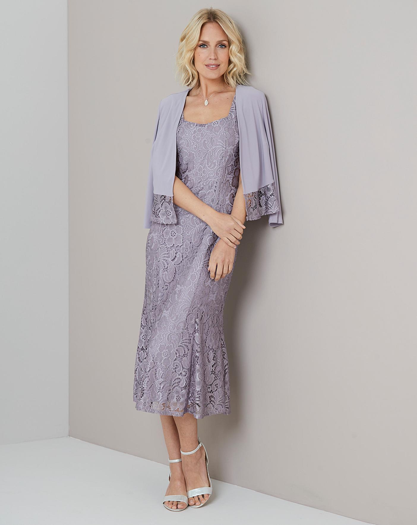 Julipa Lace Dress And Jacket
