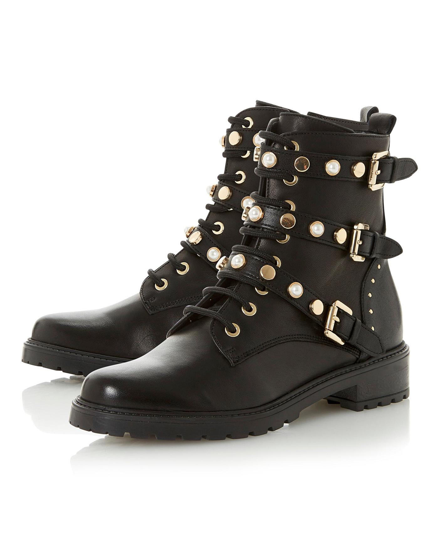 Dune Ankle Boots Standard Fit | Simply Be