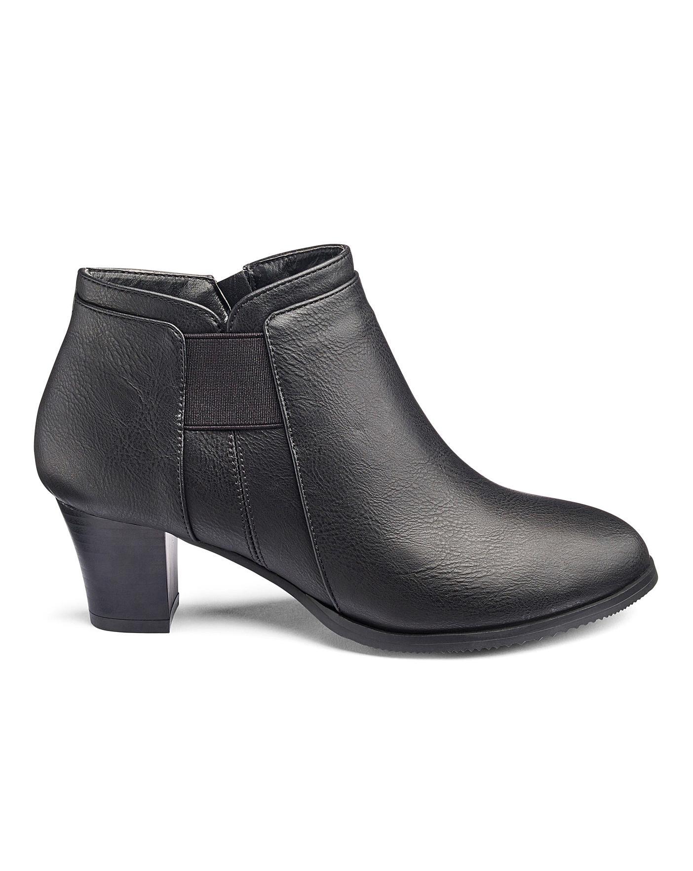 Cushion Walk Ankle Boots E Fit | Jacamo