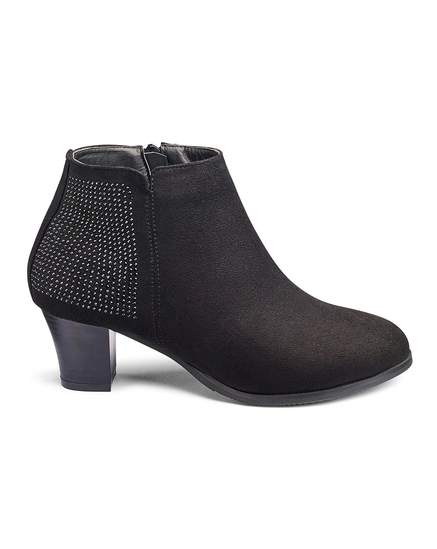 Cushion Walk Ankle Boots E Fit | Oxendales