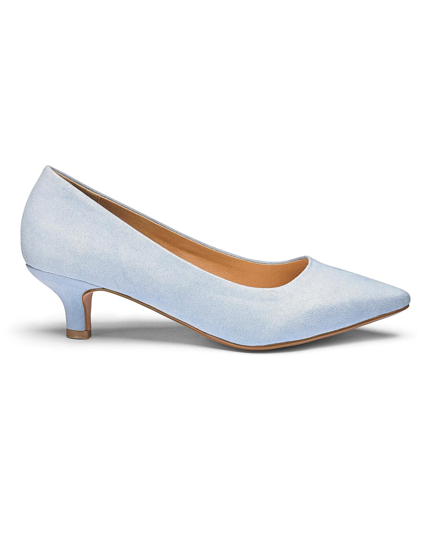 Womens Heavenly Soles Court Shoes