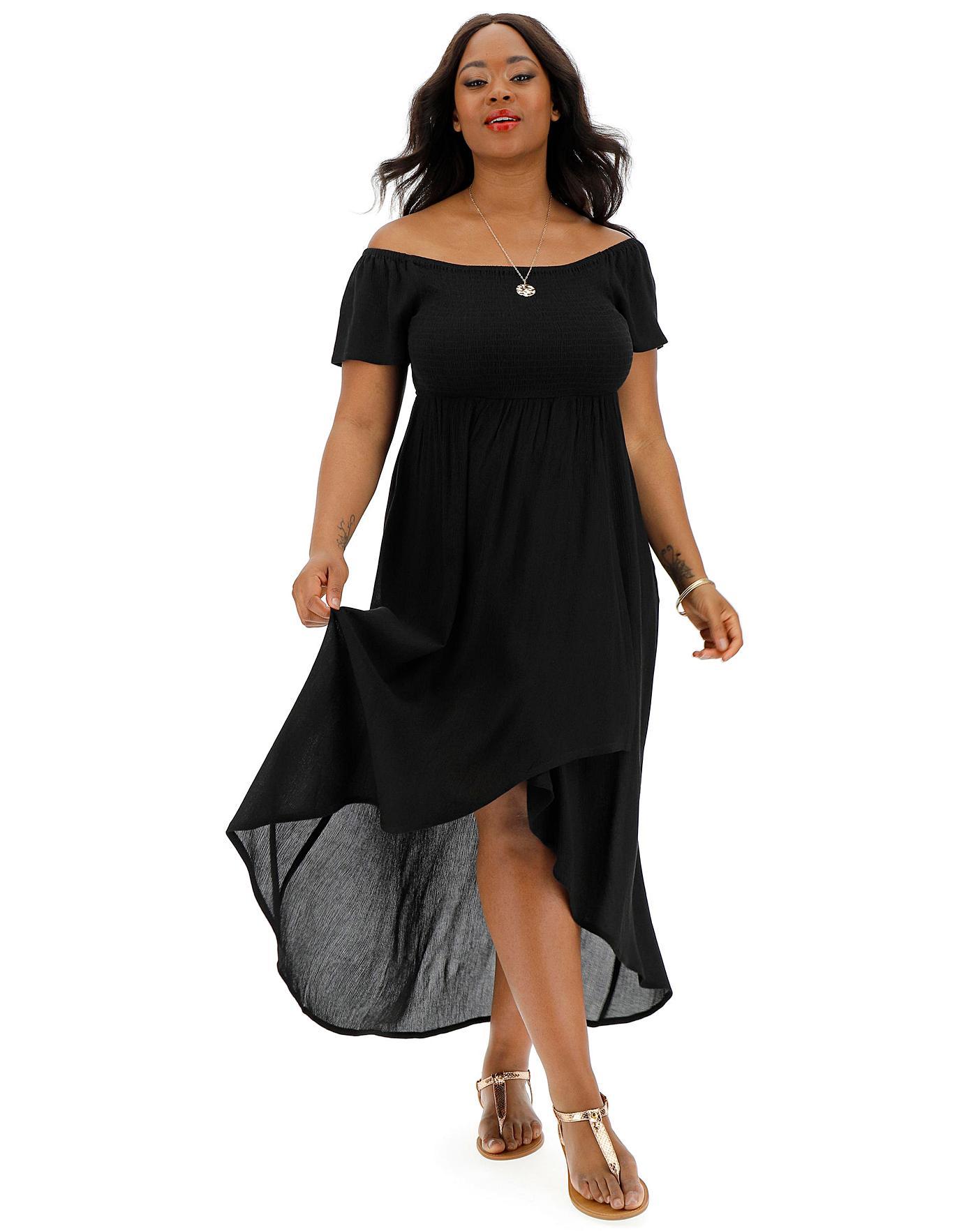 9e06be67e1 Crinkle Shirred Maxi Dress