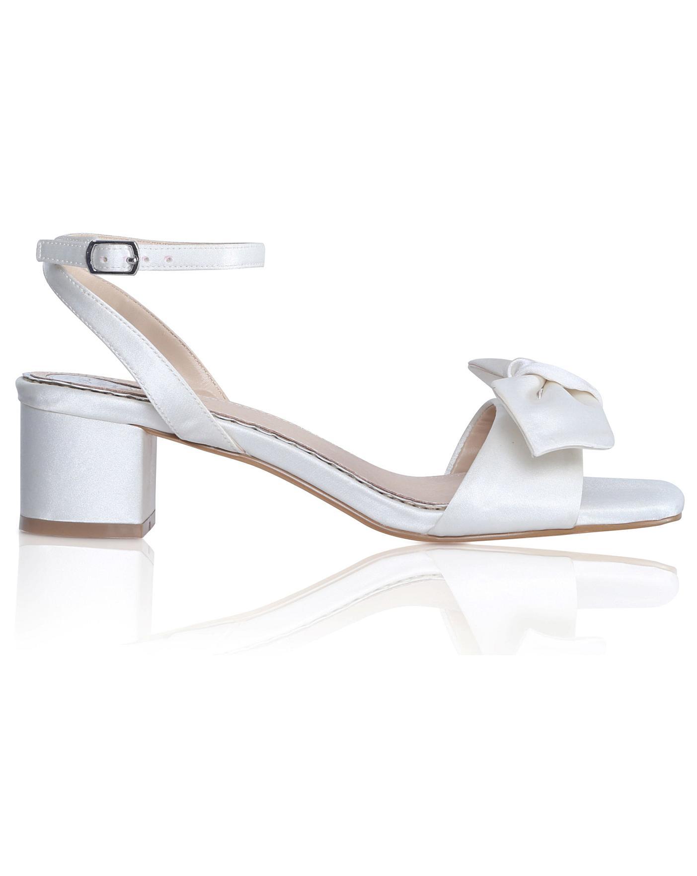 Perfect Riley Low Block Heel Sandal