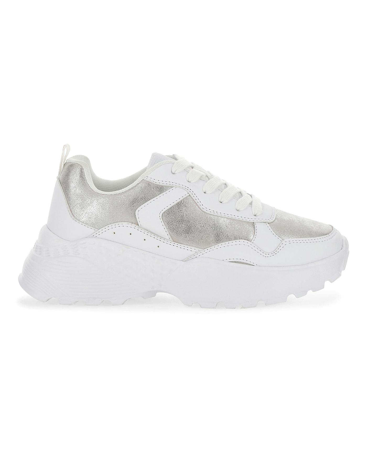 Taylor Chunky Trainers Wide Fit