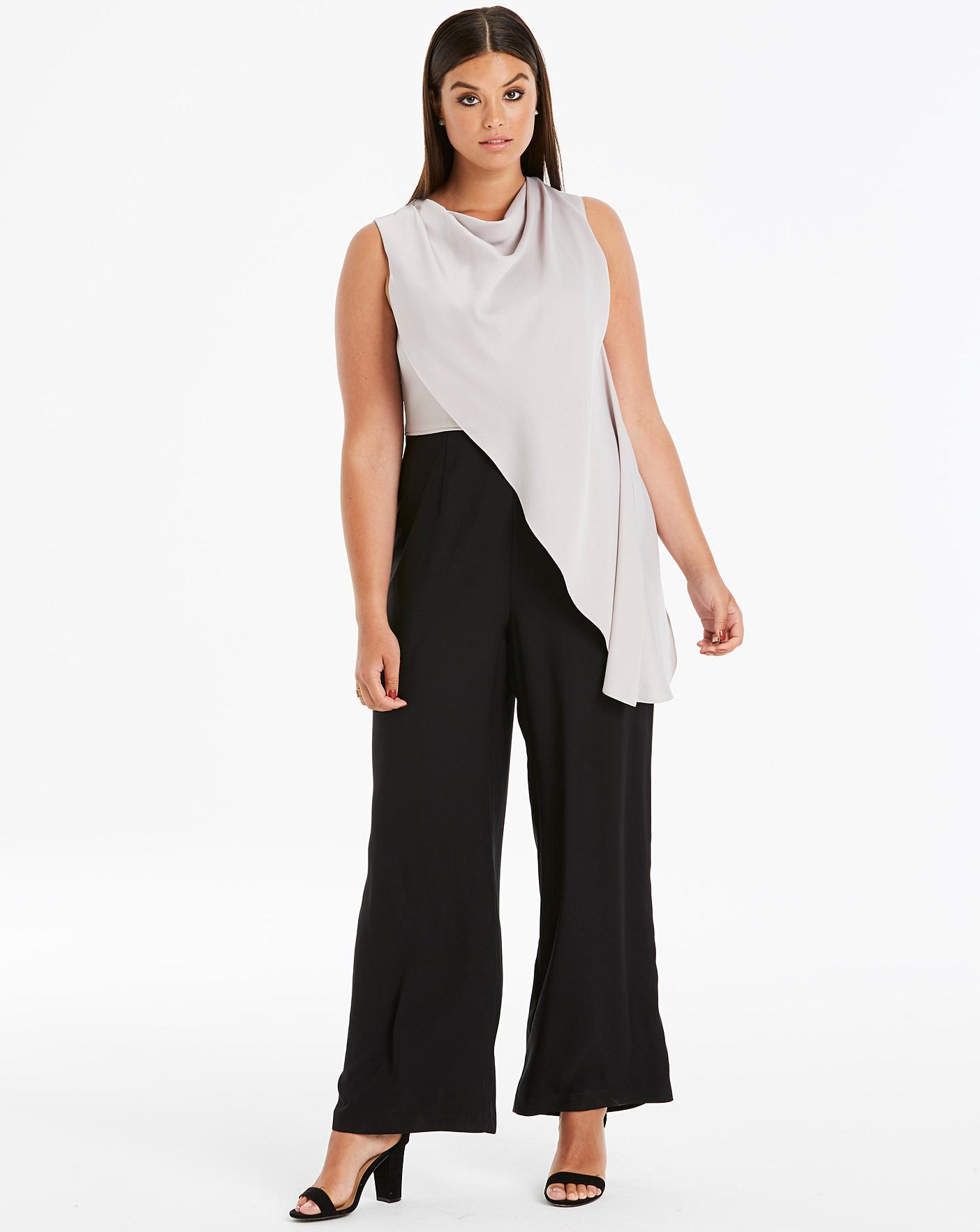 3789d12b140 Description. Cut a stylish silhouette in the Rosie Colourblock Jumpsuit  from Coast.
