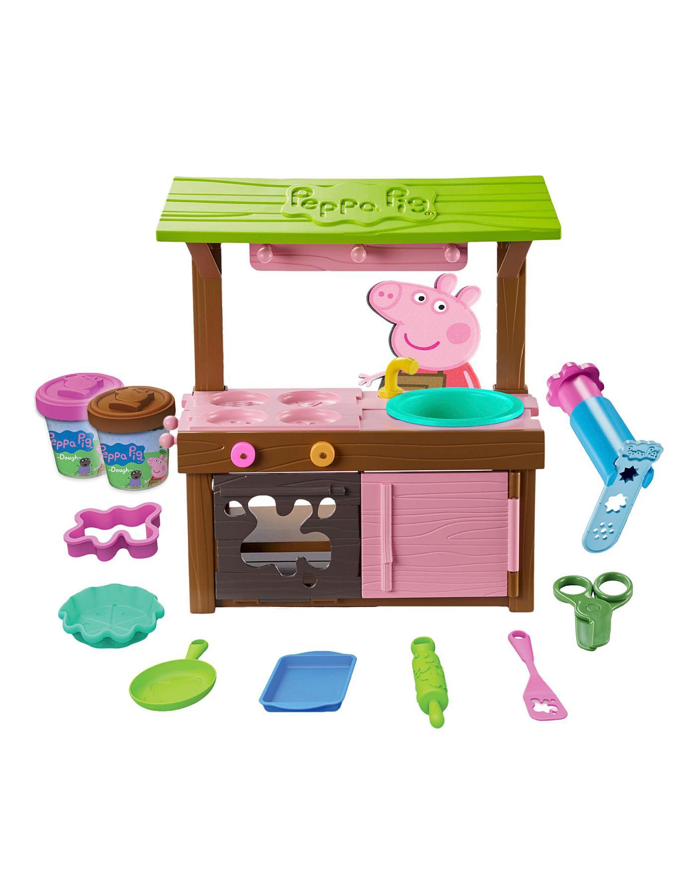 Peppa Pig Mud Kitchen Dough Set Home Essentials