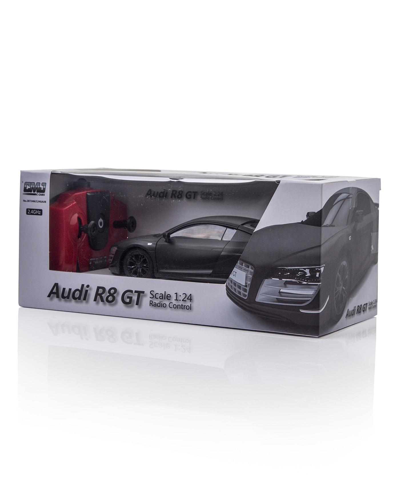 1:24 RC Audi R8 GT Black