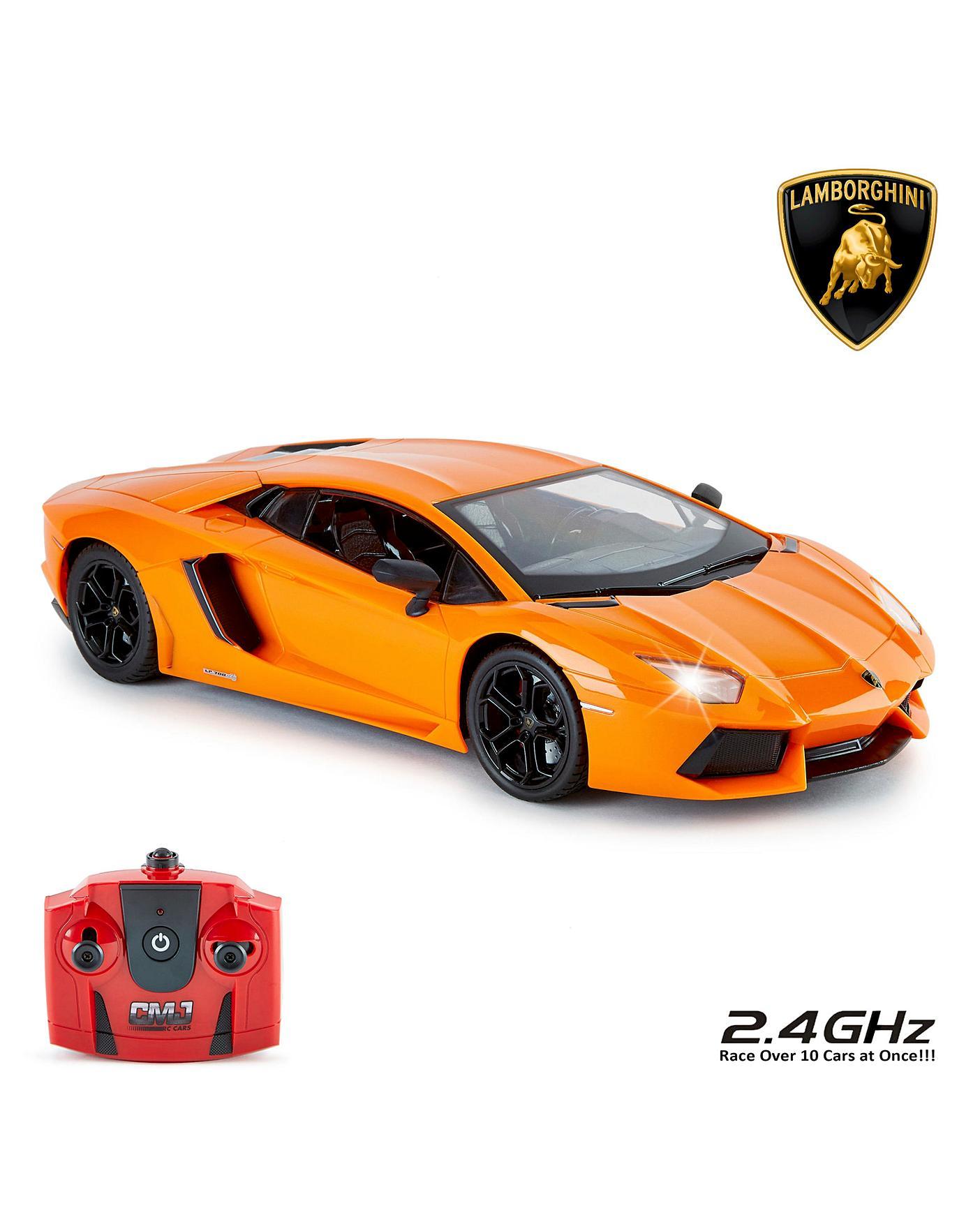 1 14 Rc Lamborghini Aventador Orange Oxendales