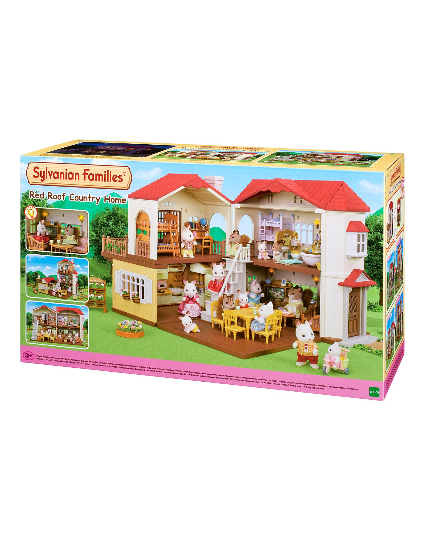 Sylvanian Families CAPSULE TOY Baby Room  /& Playground SET OF 5 Epoch