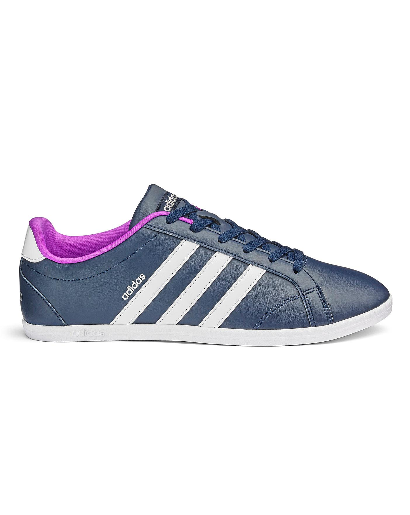 Neu Details about adidas Coneo QT Trainers Womens Athleisure