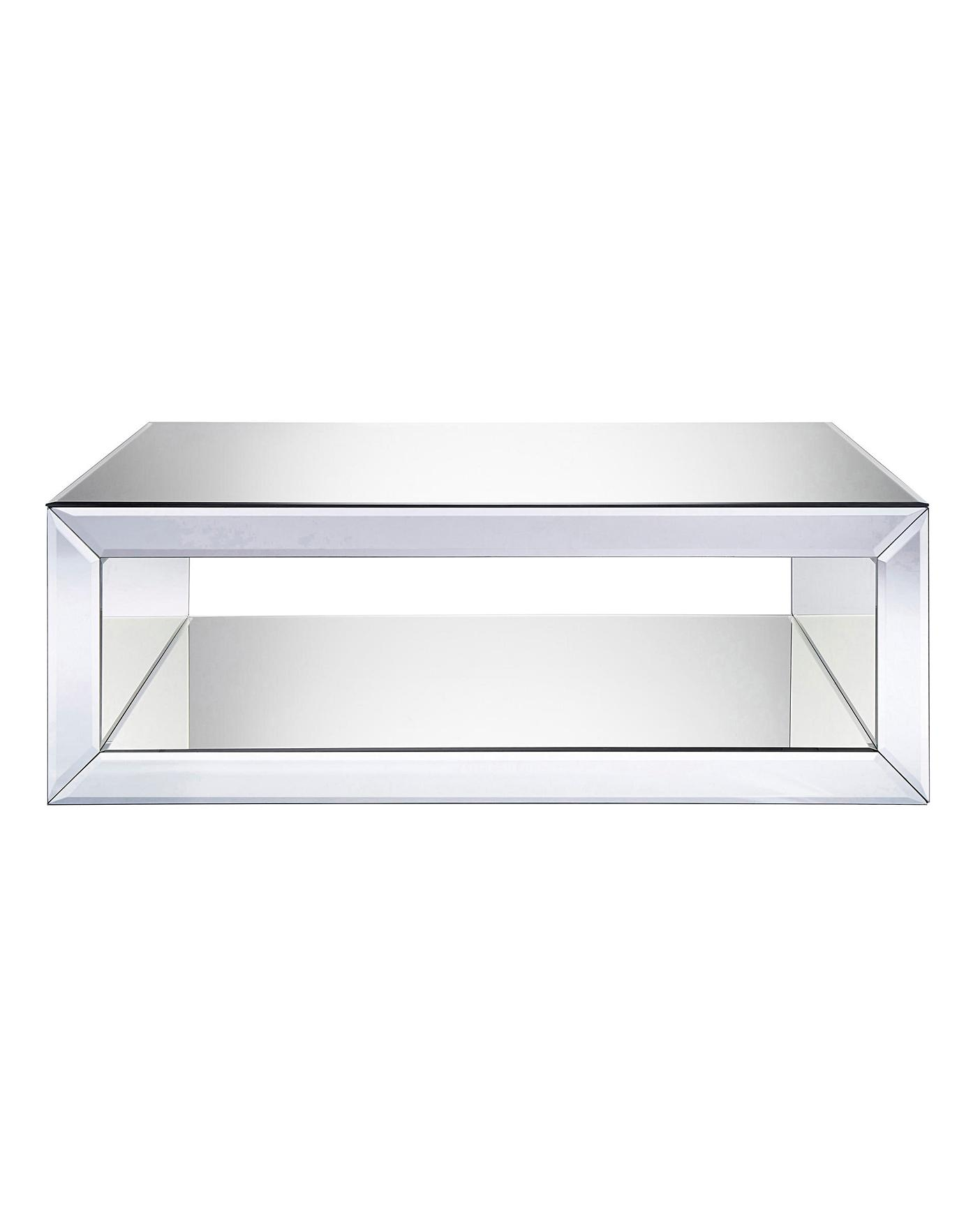Biarritz Mirrored Coffee Table Oxendales