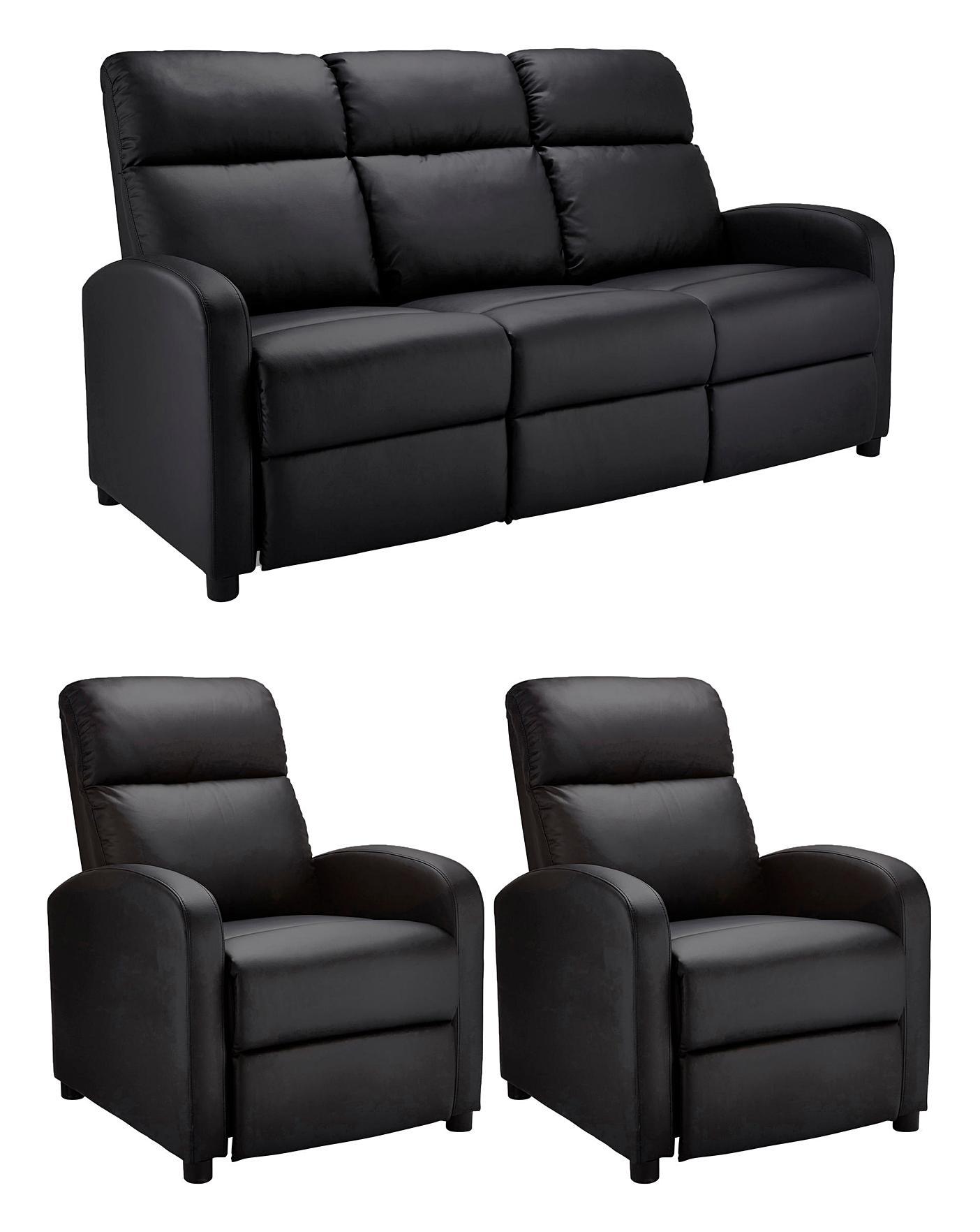 Hudson 3 Seater Sofa Plus 2 Chairs J