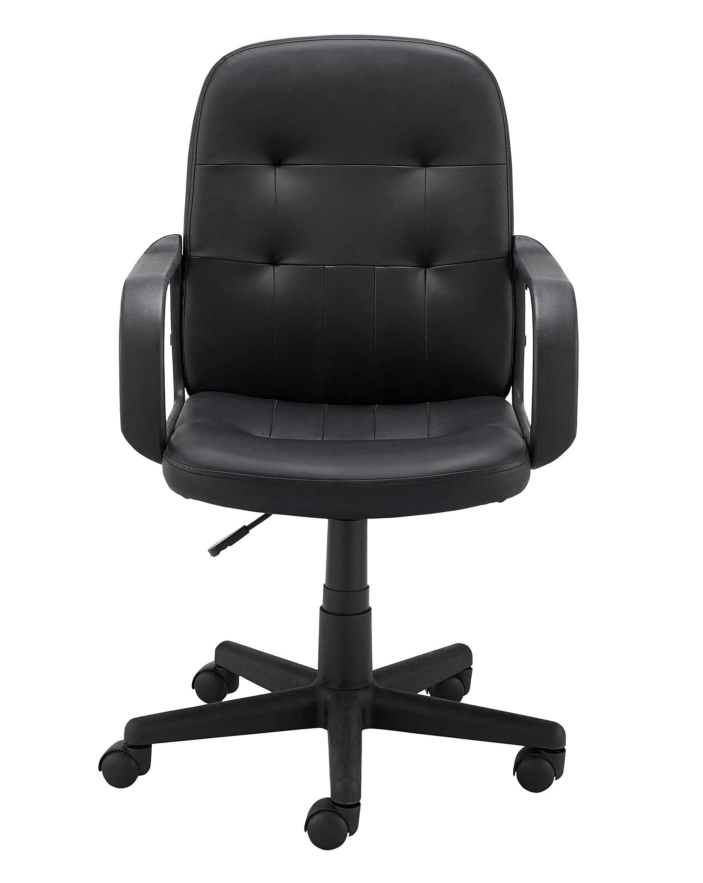 Magnificent Parker Faux Leather Gaslift Office Chair Ibusinesslaw Wood Chair Design Ideas Ibusinesslaworg