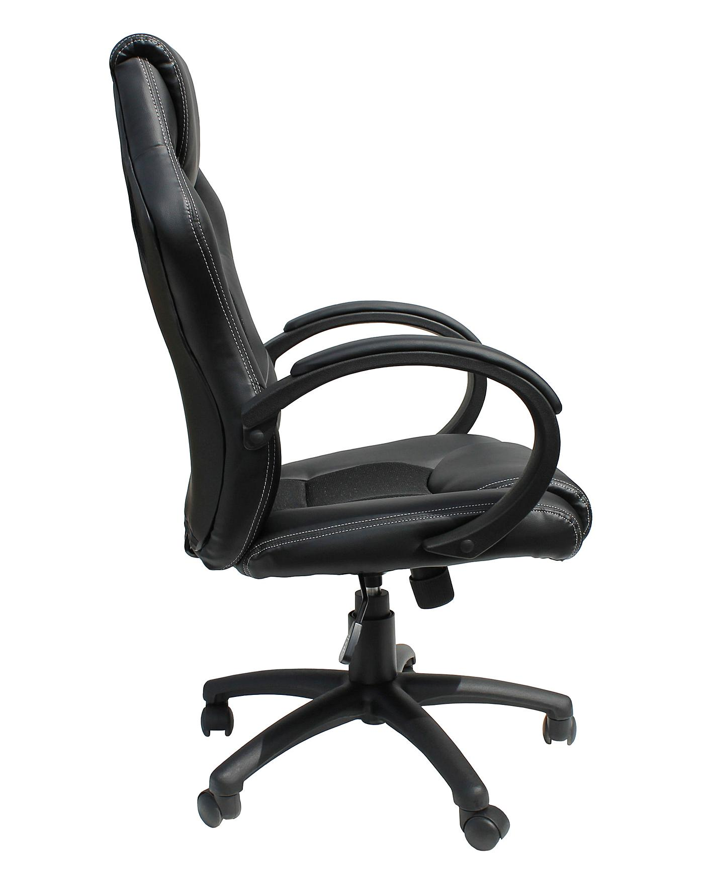 Silverstone Faux Leather Racing Chair Home Beauty Amp Gift