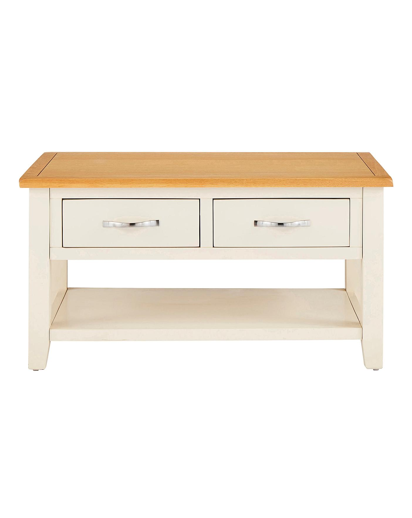 - Norfolk Two Tone Coffee Table Oxendales