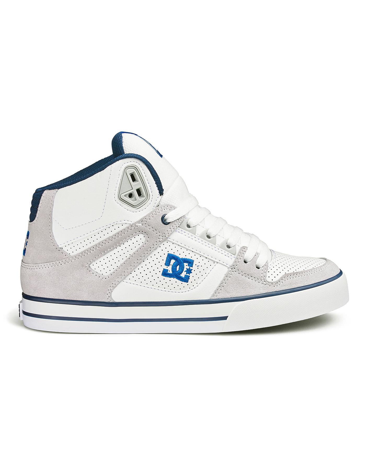 DC Shoes Pure High-Top Trainers | Jacamo