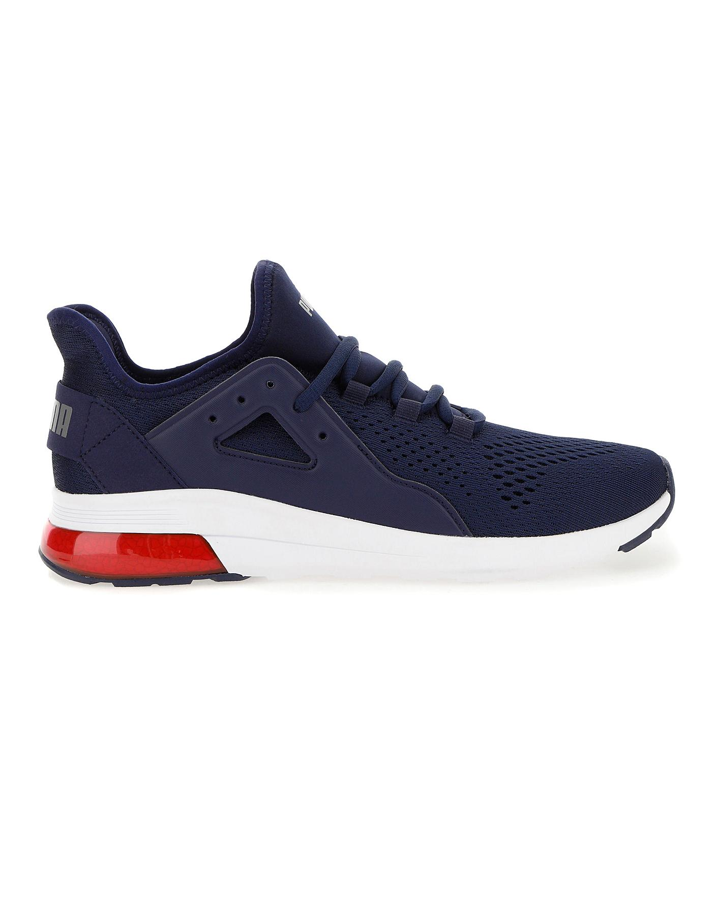 plus récent 4ee93 322a4 Puma Electron Street Eng Mesh Trainers