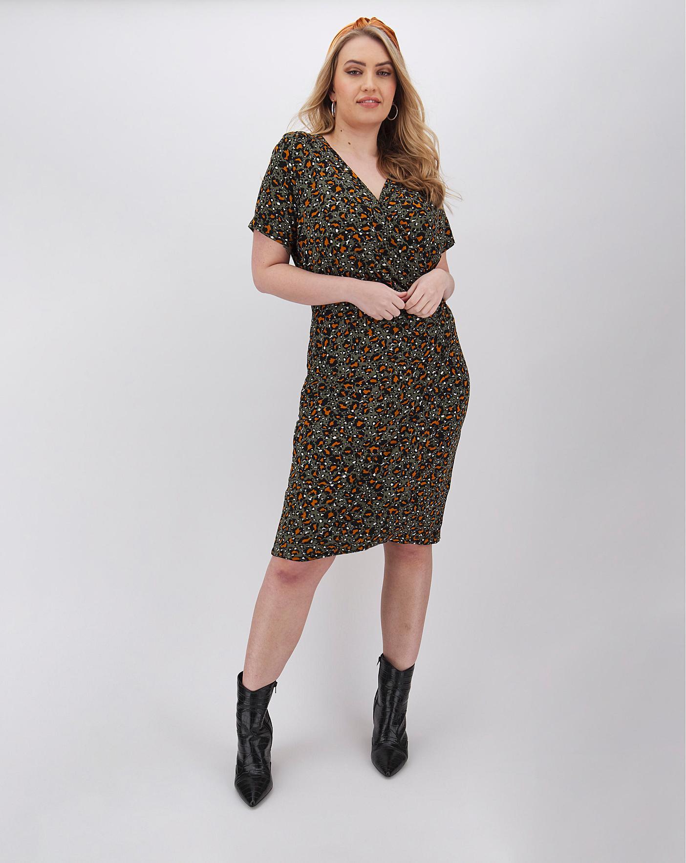 Joe Browns Animal Print Dress Simply Be