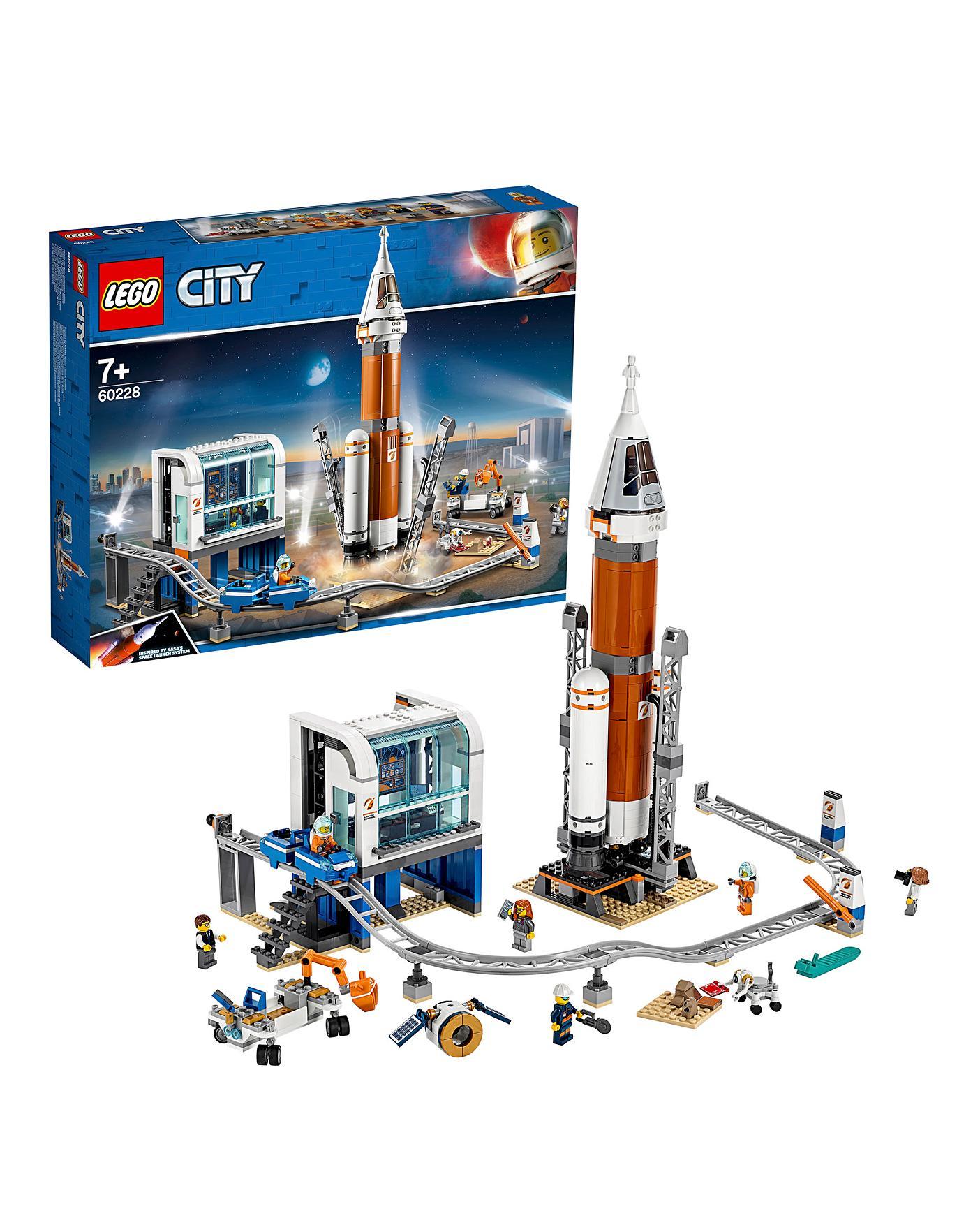 *NEW* Lego Space NASA Support Engineer Astronaut Minifgure Figure Fig x 1