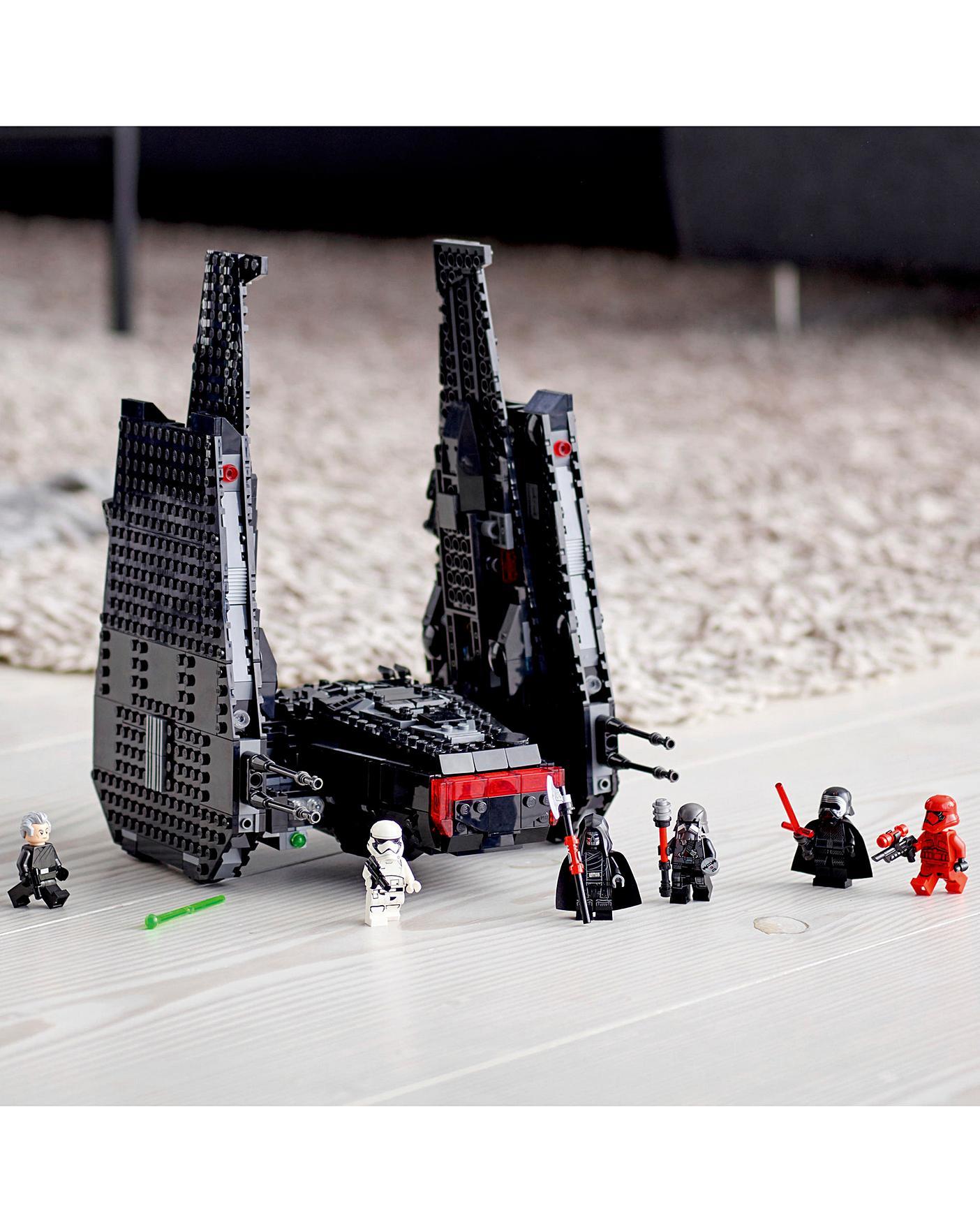 Lego Star Wars Kylo Ren S Shuttle Ambrose Wilson