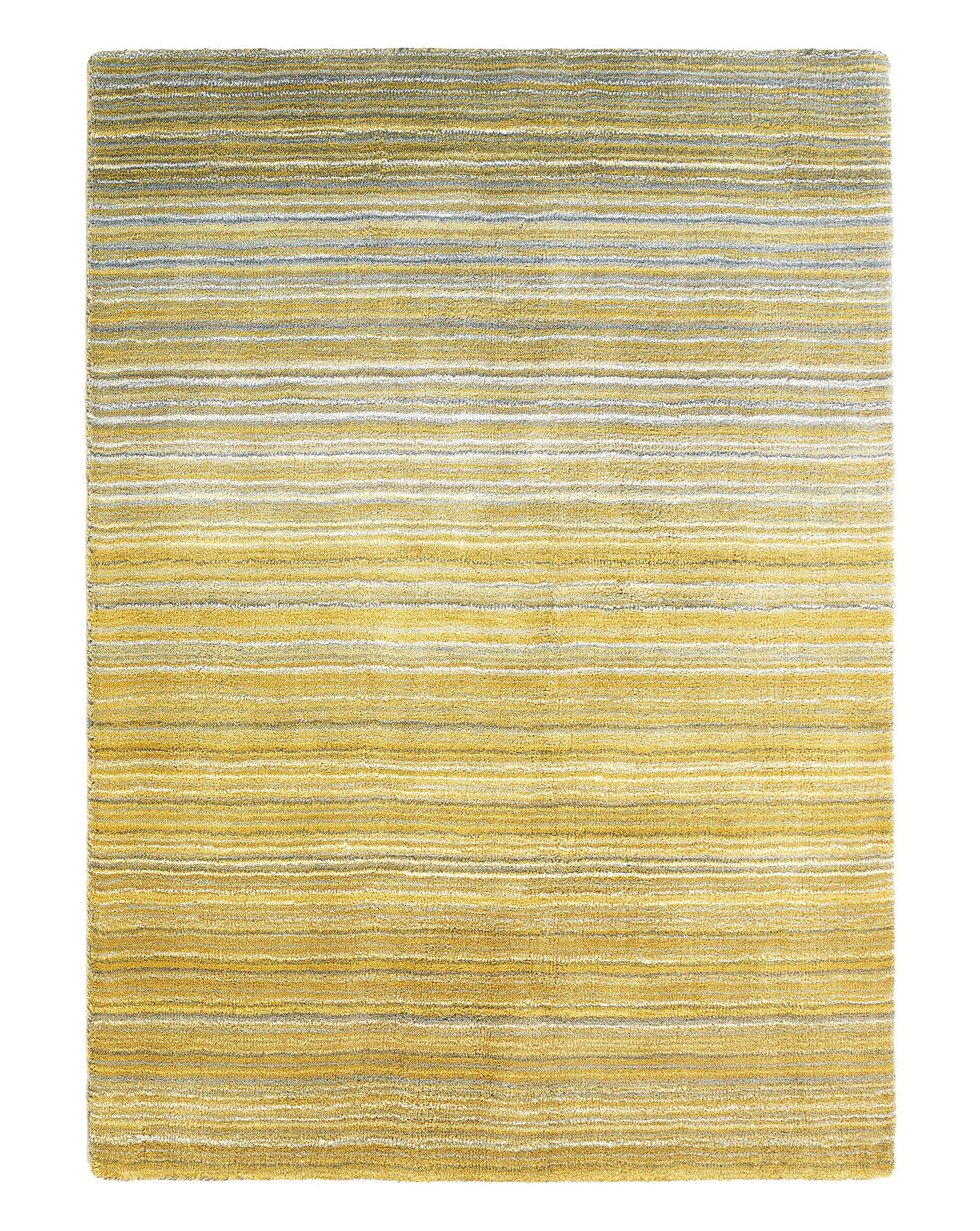 Fine Stripe Wool Rug Large