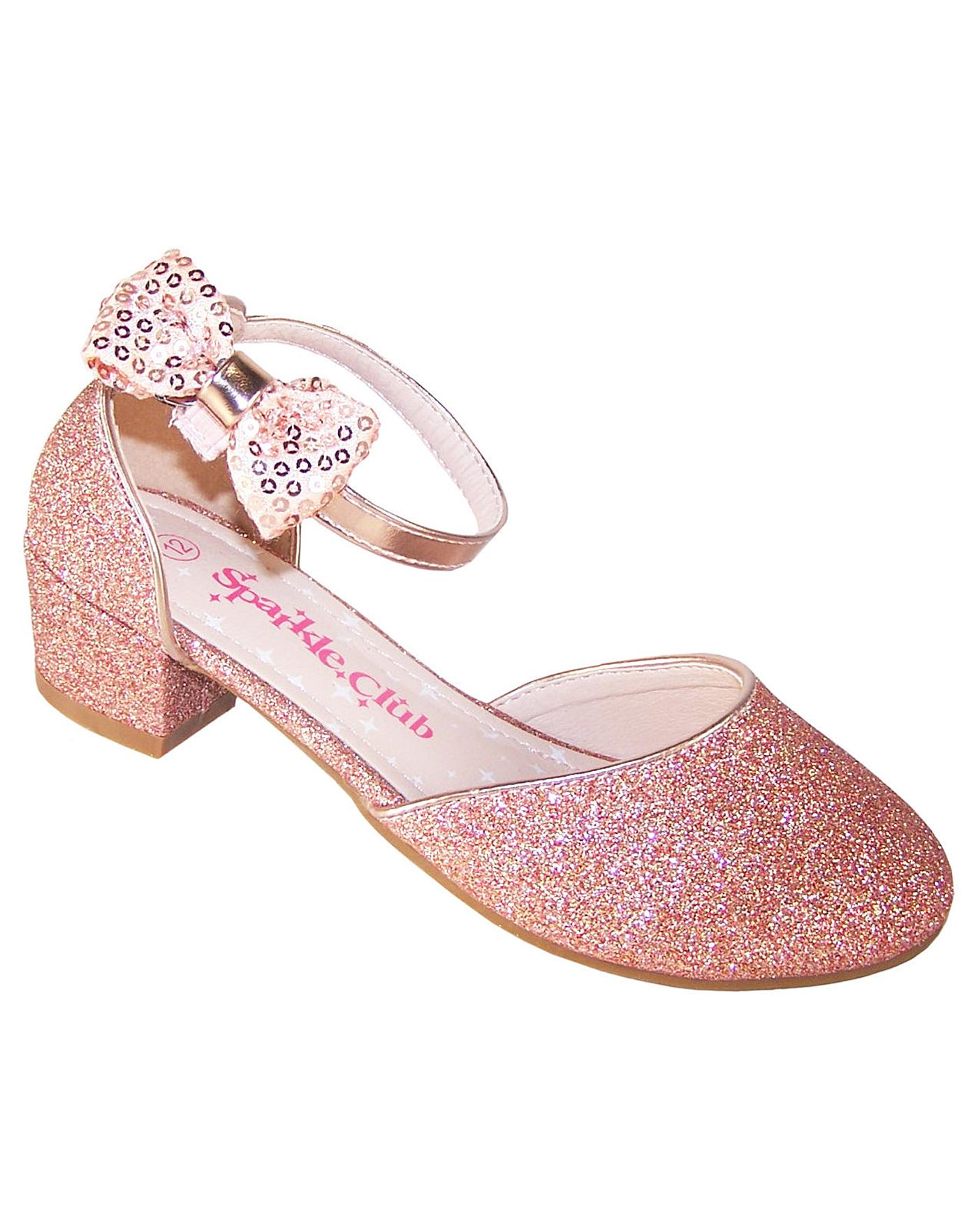 Sparkle Club Rose Gold Shoes | Fashion