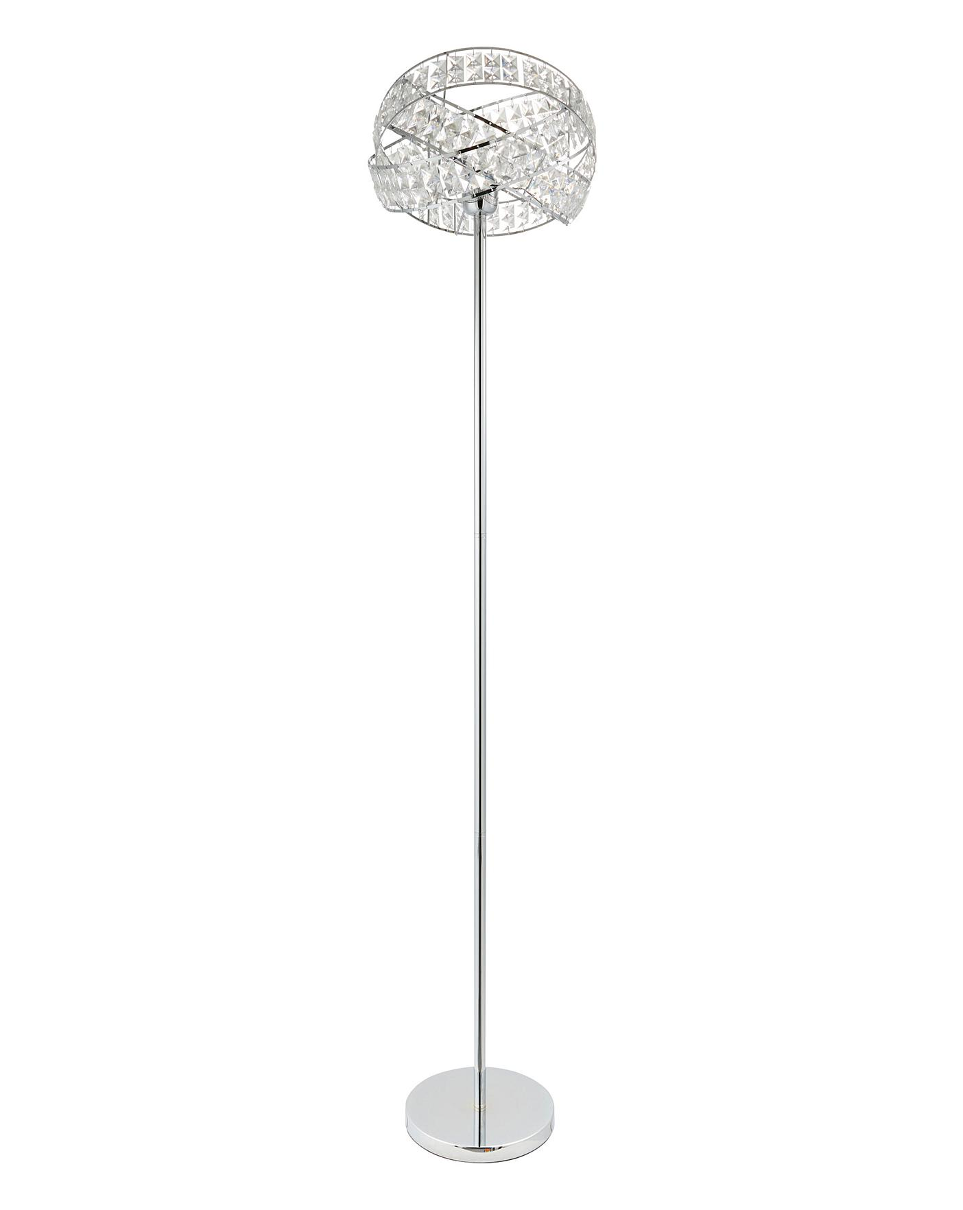 Twist Acrylic Floor Lamp