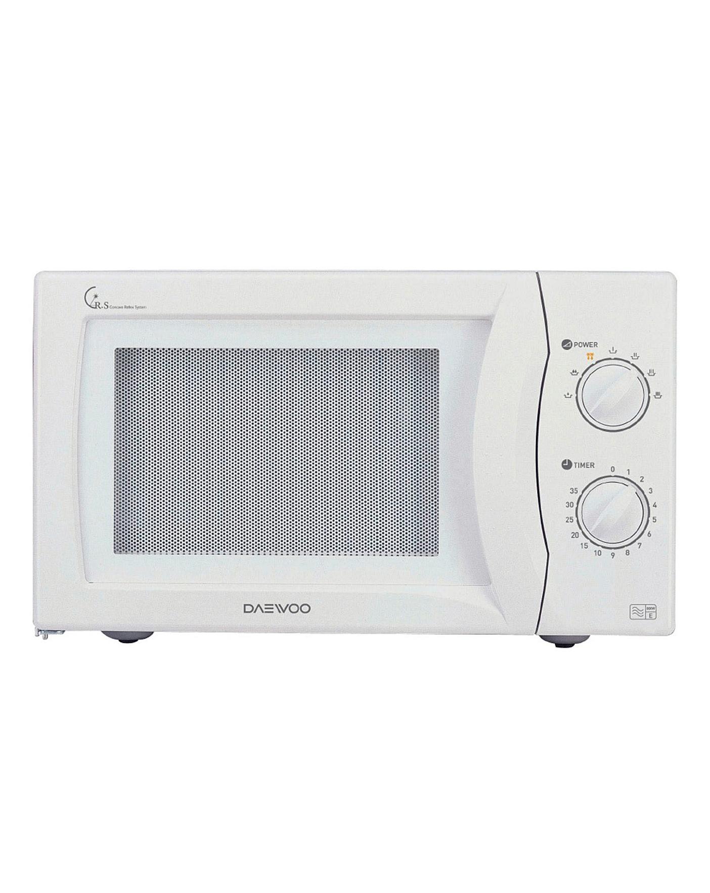 Daewoo Kor6n35sr 20l Microwave White