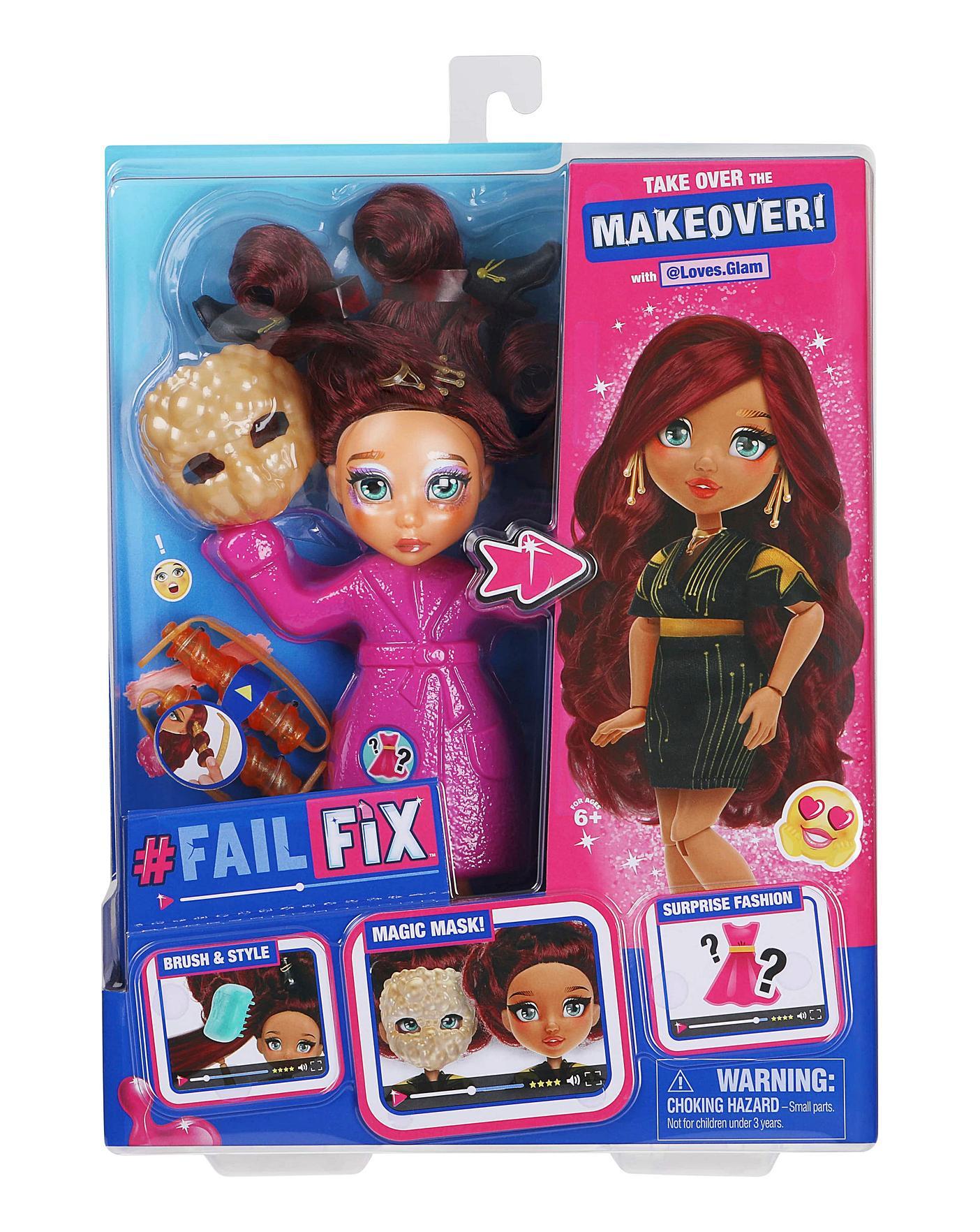 Failfix Total Makeover Glamazongirl Doll Home Essentials