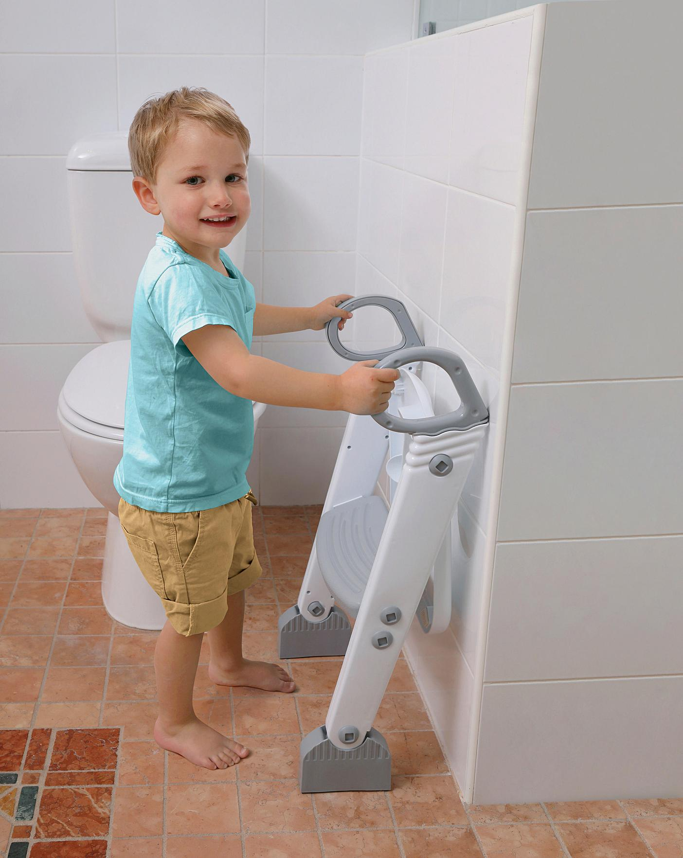 DREAMBABY Step-UP Toilet Topper Grey//White