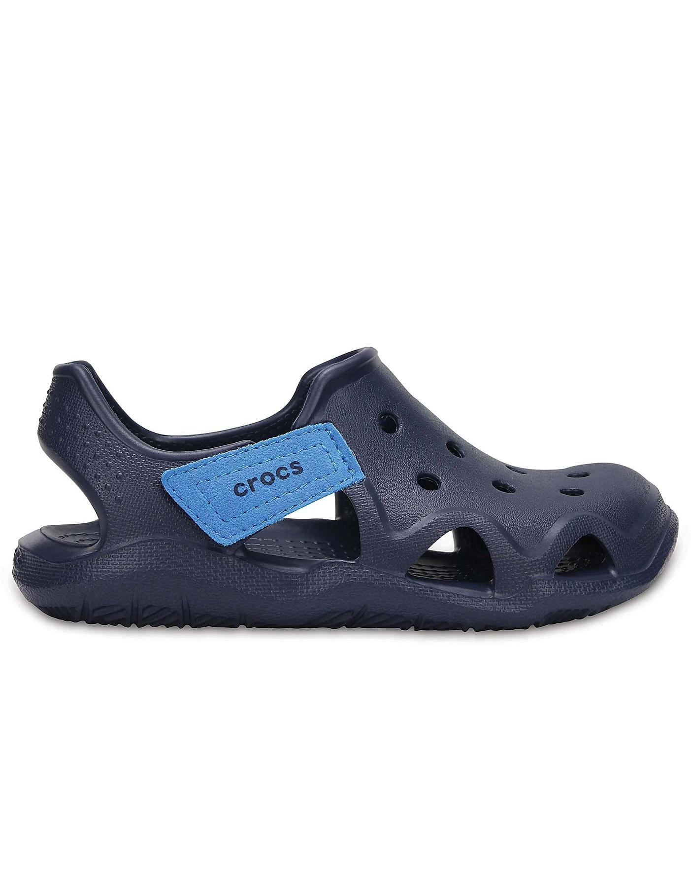 Crocs Kids Swiftwater Wave Sandal Ocean Blue Children/'s Size 13