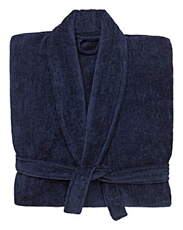 &Brand Tall Velour Dressing Gown