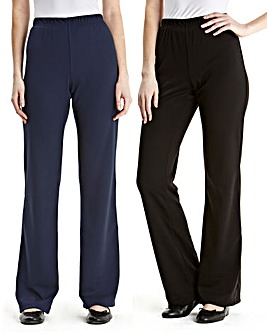 Pack of 2 Trousers Length Extra Short