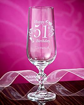 Personalised Birthday Flute