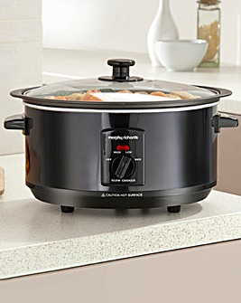 Morphy Richards 3.5L Slow Black Cooker