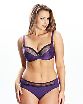 Curvy Kate Purple Gia Balconette Bra