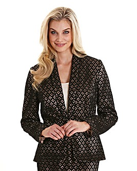 February Joanna Hope Contrast Lined Lace Jacket