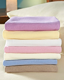 Cottonette Fitted Sheet 15 inch