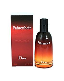 Dior Fahrenheit 50ml Eau De Toilette