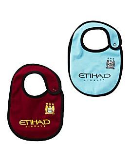 Manchester City 2 Pack Bibs