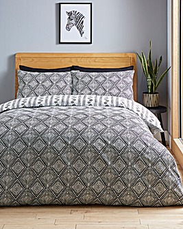 Anna Monochrome Duvet Cover Set