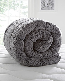 Grey Cuddle Fleece 13.5 Tog Duvet