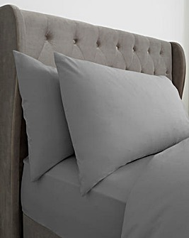 Washed Cotton Housewife Pillowcases