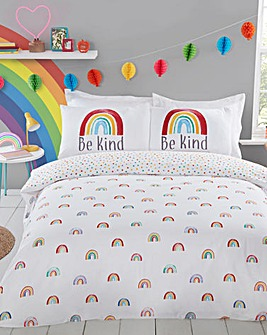 Rainbow Be Kind Duvet Cover Set