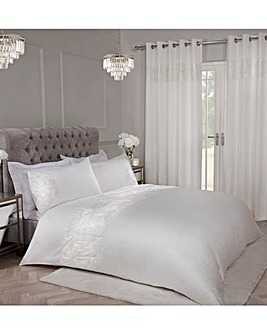 Sequin Embellished Duvet Cover Set